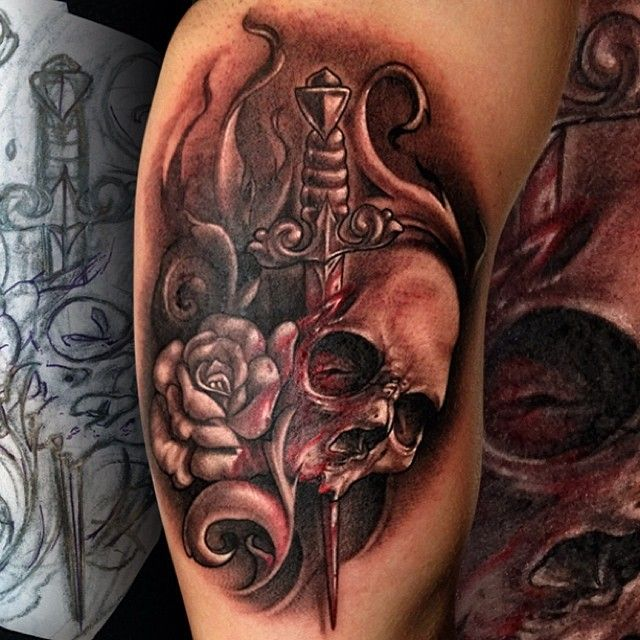 Pin By Tattooed Ink On Alexis Vaatete Tattoos Color Ideas And Designs