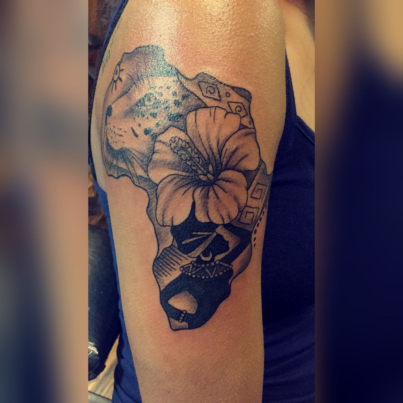 Africantattoo Tattoos Piercings African Tattoo Ideas And Designs