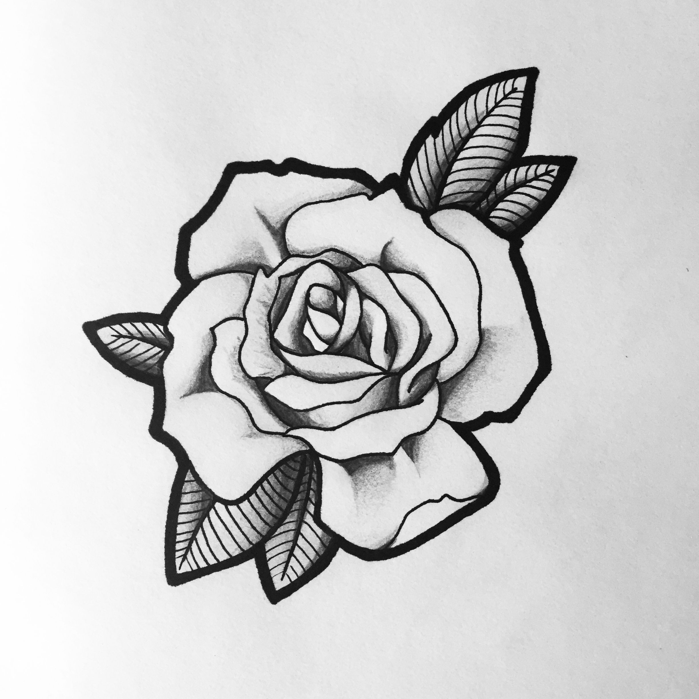 Rose Tattoo Design Black And Grey Tattoos For Life Ideas And Designs
