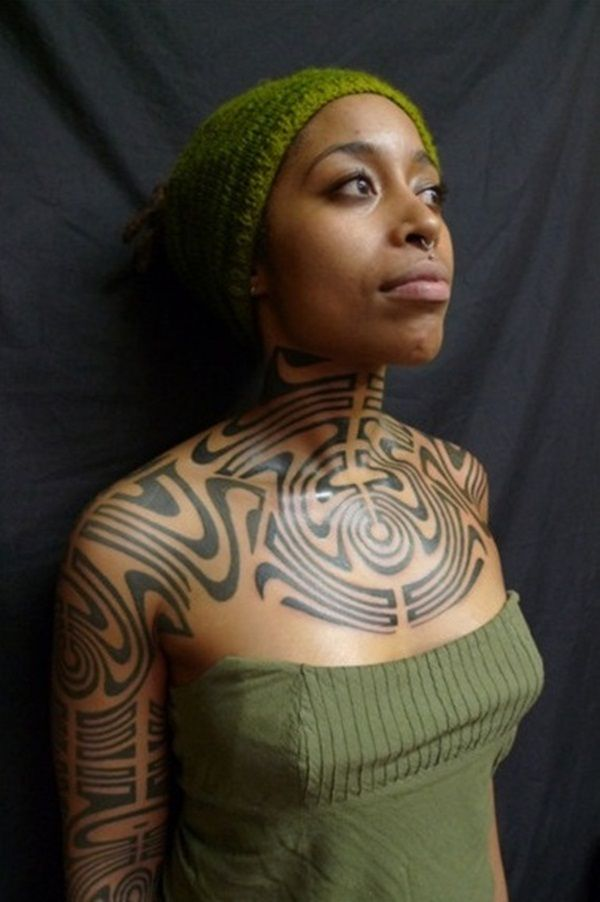 60 Tribal Tattoo Designs For Women Write On Clothing Ideas And Designs