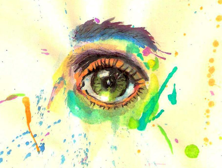 Water Color Eye Images Watercolor Eye By Facelessv On Ideas And Designs