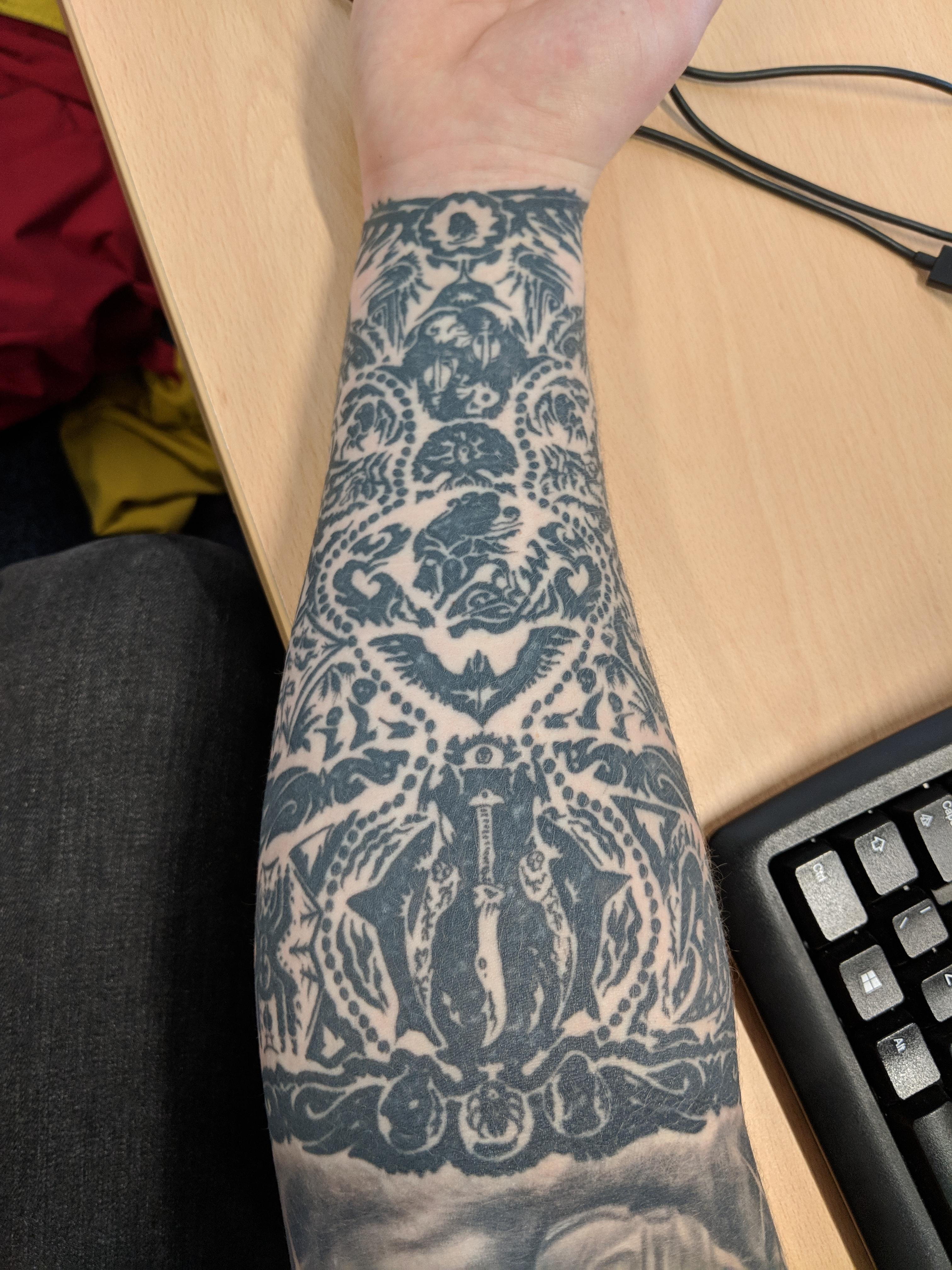 Far Cry 3 Forearm Tattoo Done By Ant Ross At The Caged Fox Ideas And Designs