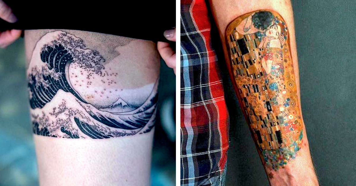 29 Museum Worthy Tattoos Inspired By Art History Ideas And Designs