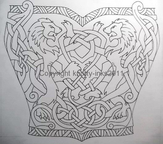 Celtic Lions Tattoo Design1 By Tattoo Design On Deviantart Ideas And Designs