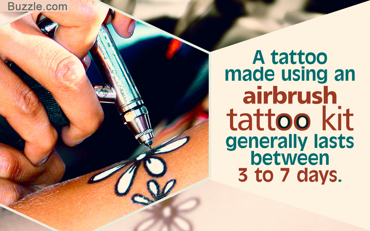 Airbrush Tattoo Kit Ideas And Designs