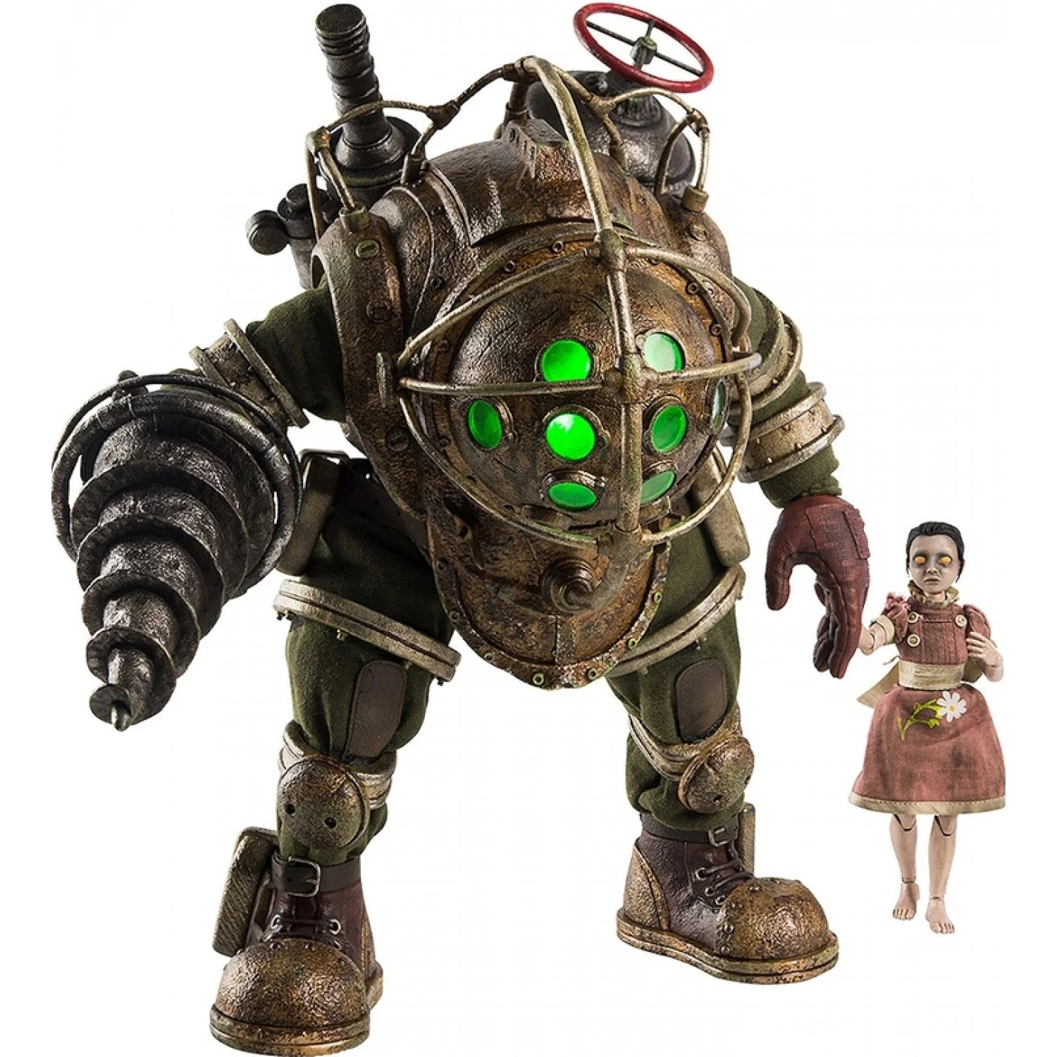 Bioshock 1 6 Scale Action Figure Big Daddy And Little Sister Ideas And Designs