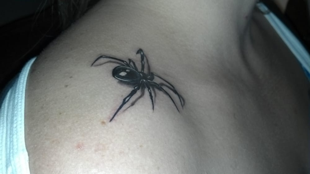 3D Spider By Casey Price This Is Same Day Healed Nice Ideas And Designs