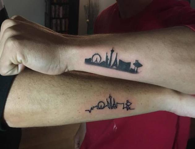 Photos Las Vegas Themed Tattoos To Support Shooting Ideas And Designs