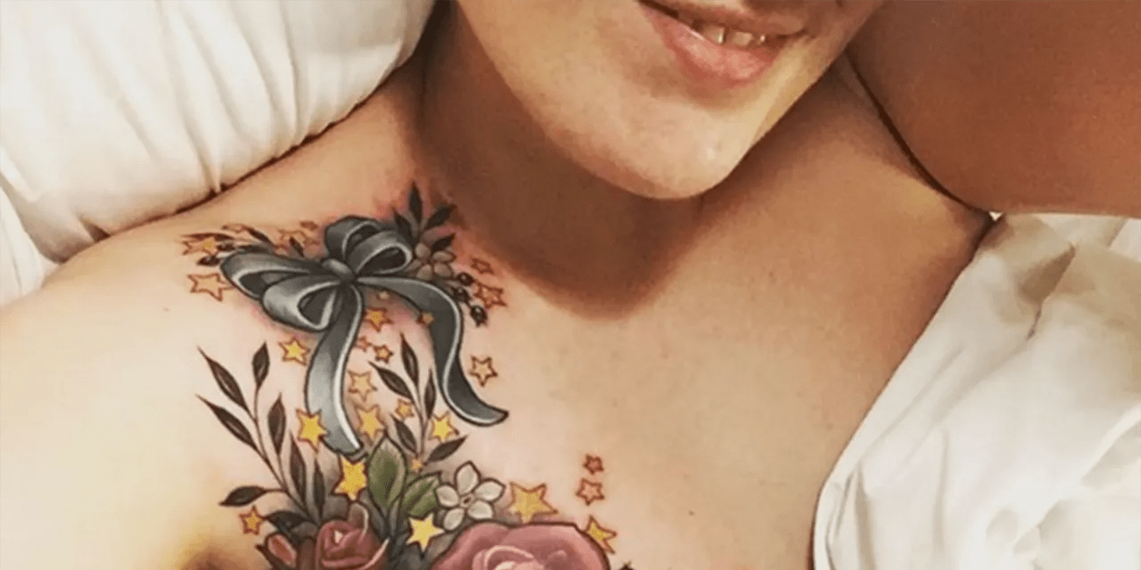 After Having A Lumpectomy This Br**St Cancer Survivor Ideas And Designs