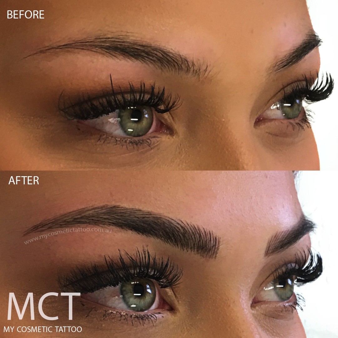 Eyebrow Tattoo Feathering My Cosmetic Tattoo Ideas And Designs
