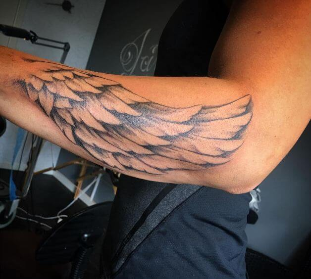 50 Men Angel Wing Tattoos Designs 2019 Arm Back Ideas And Designs