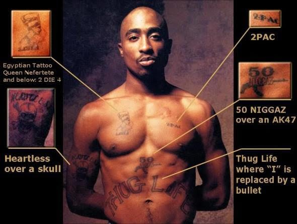 Tupac Front Tattoo 2Pac Legacy Ideas And Designs