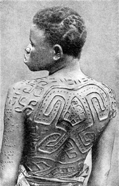 African Tattooing Scarification – Dr L D Brown – Medium Ideas And Designs
