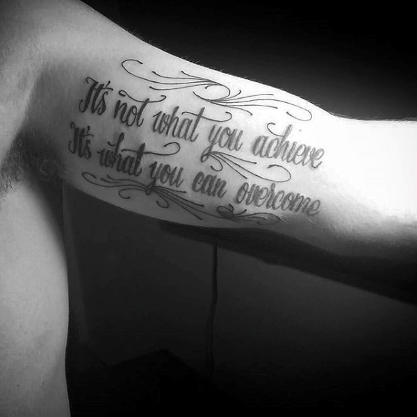 The 105 Best Inner Bicep Tattoos For Men Improb Ideas And Designs