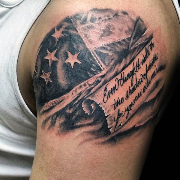 The 80 Best American Flag Tattoos For Men Improb Ideas And Designs