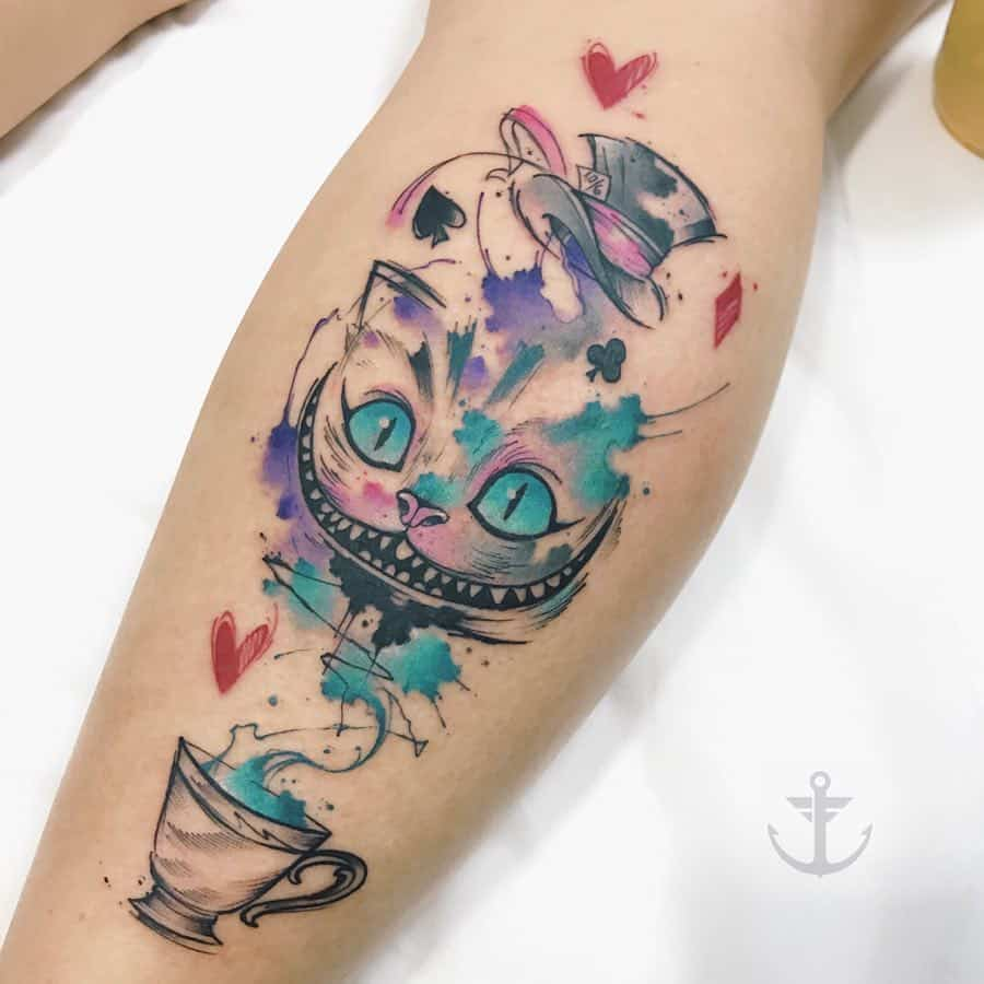 36 Thought Provoking Alice In The Wonderland Tattoos Ideas And Designs