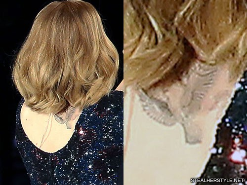 Adele S 5 Tattoos Meanings Steal Her Style Ideas And Designs