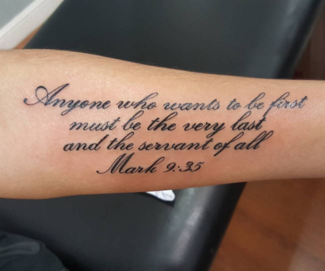 50 Best Bible Verse Tattoos For Men 2019 Religious Ideas And Designs