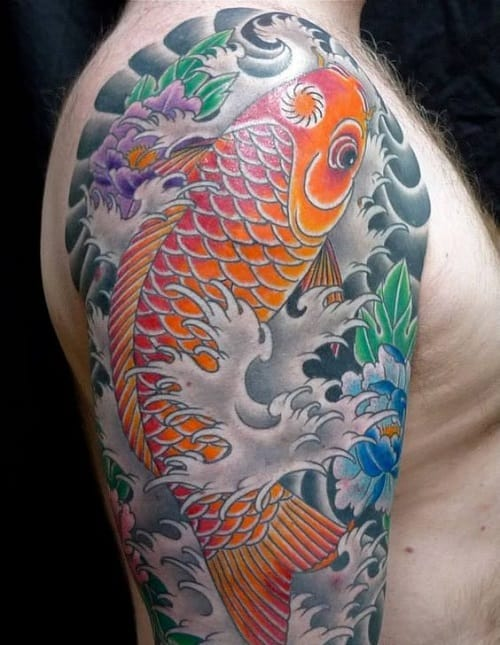 250 Best Koi Fish Tattoos Meanings Ultimate Guide July Ideas And Designs