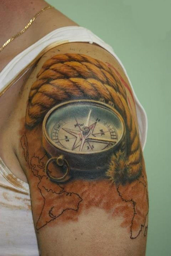 Awesome 3D Tattoos That Are Really Unique 23 Pics D*Mn Ideas And Designs