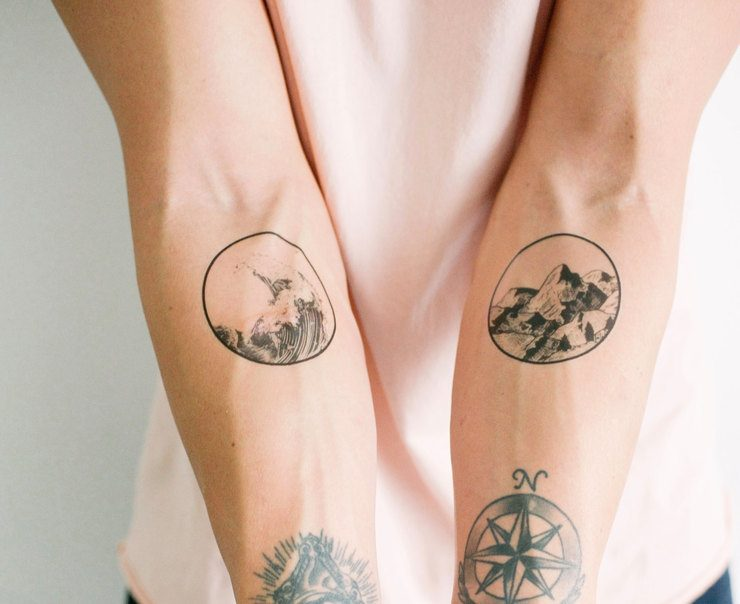 Beautiful Minimalist Temporary Tattoos By Smashtat Ideas And Designs