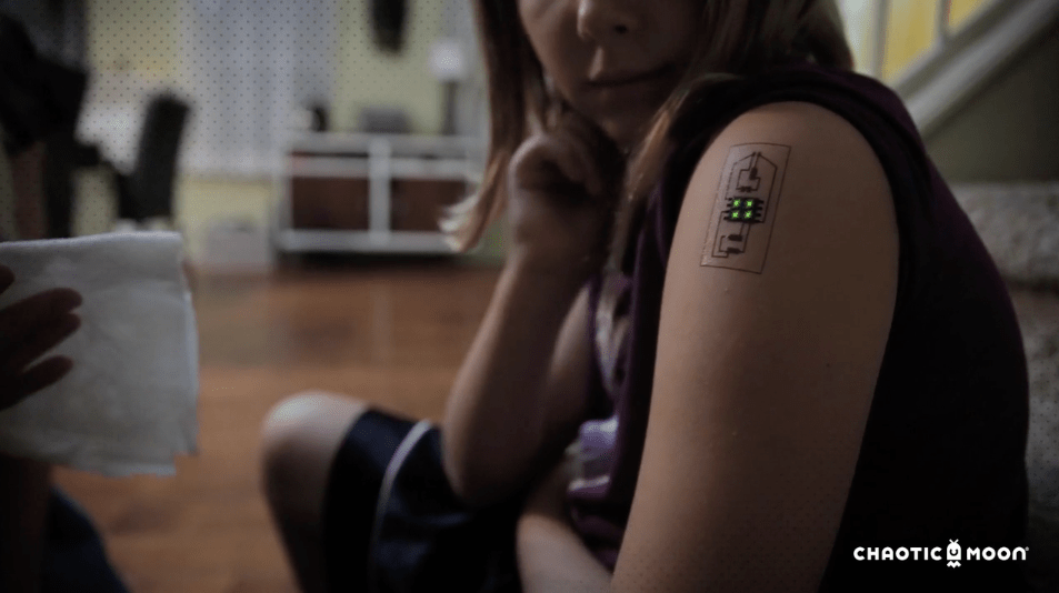 Chaotic Moon Explores Biometric Tattoos For Medicine And Ideas And Designs