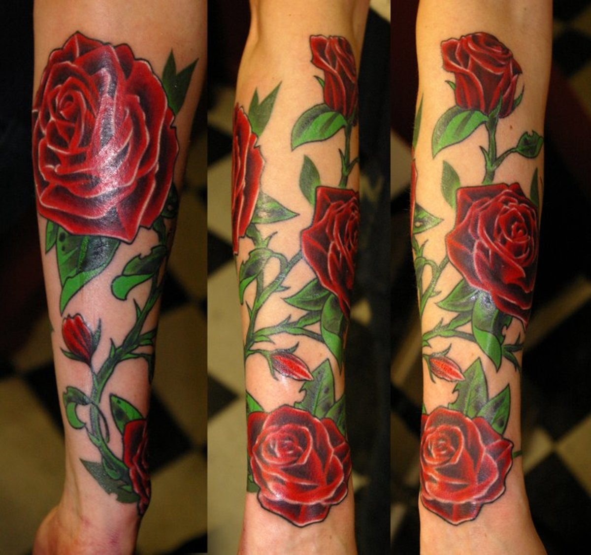 Meaning Of Rose Tattoo Black Blue Purple And Other Ideas And Designs