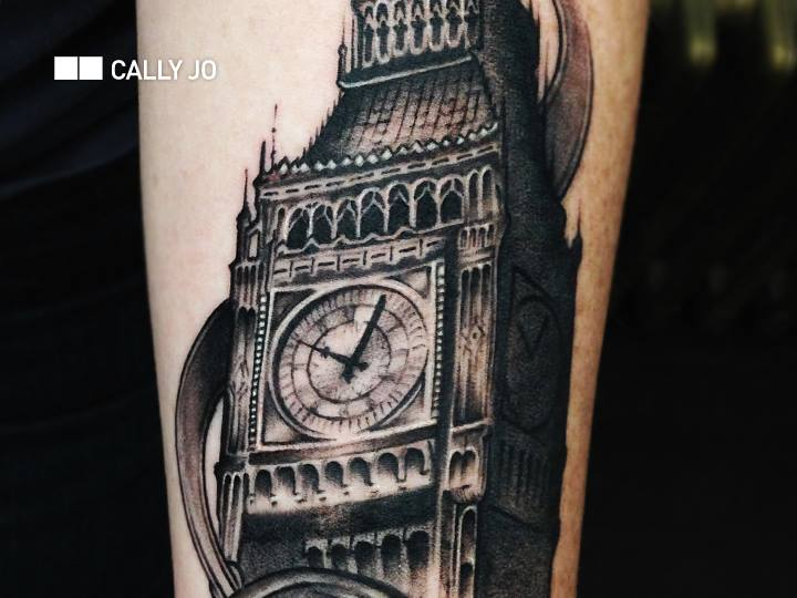 Realistic Big Ben Tattoo By Bang Bang Nyc Ideas And Designs