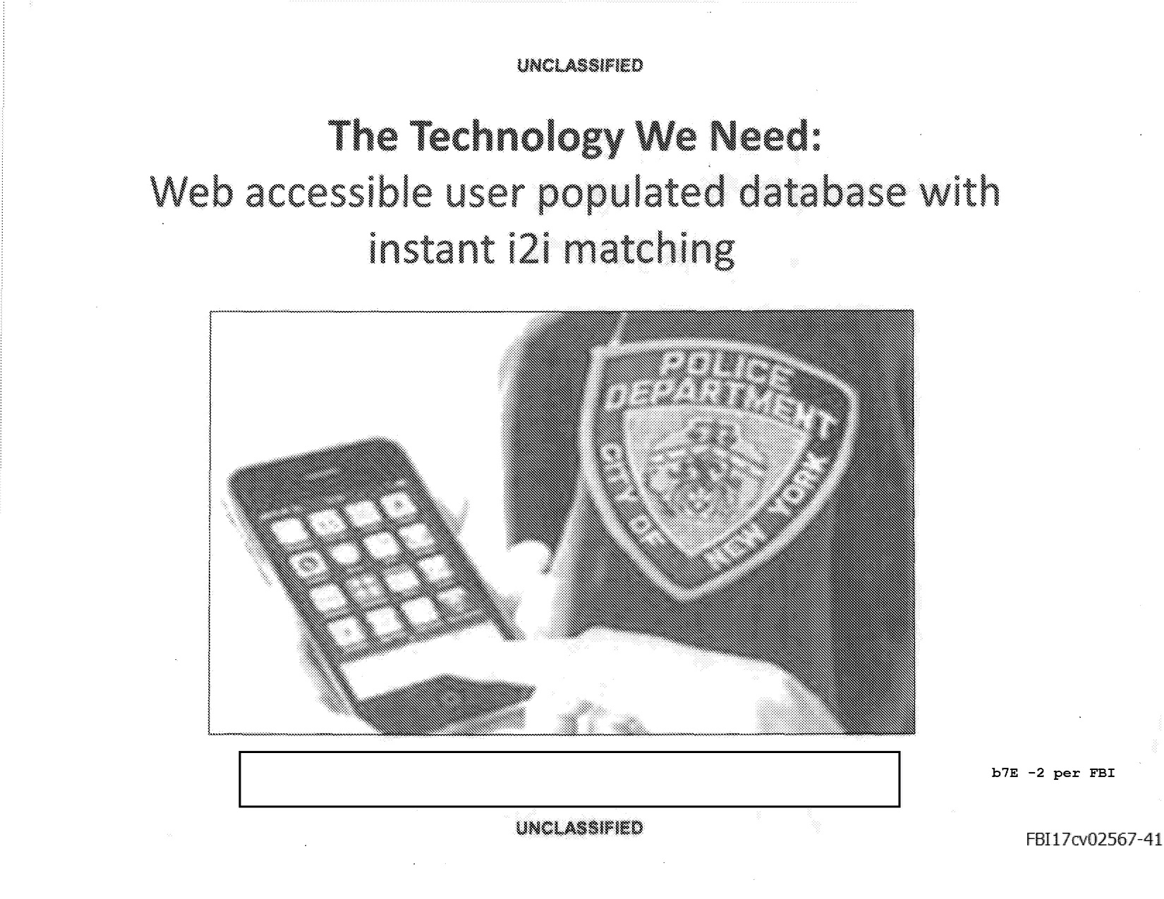 Fbi Wish List An App That Can Recognize The Meaning Of Ideas And Designs