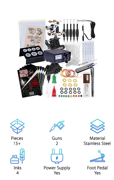 10 Best Cheap Tattoo Kits 2019 Buying Guide – Geekwrapped Ideas And Designs
