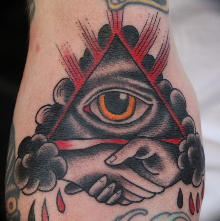 Mike Lussier Art Freek Tattoo Eye Of Providence Ideas And Designs