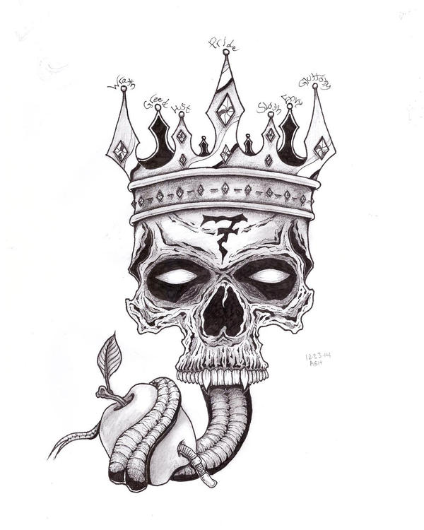 7 Deadly Sins Tattoo By Nothomeless On Deviantart Ideas And Designs