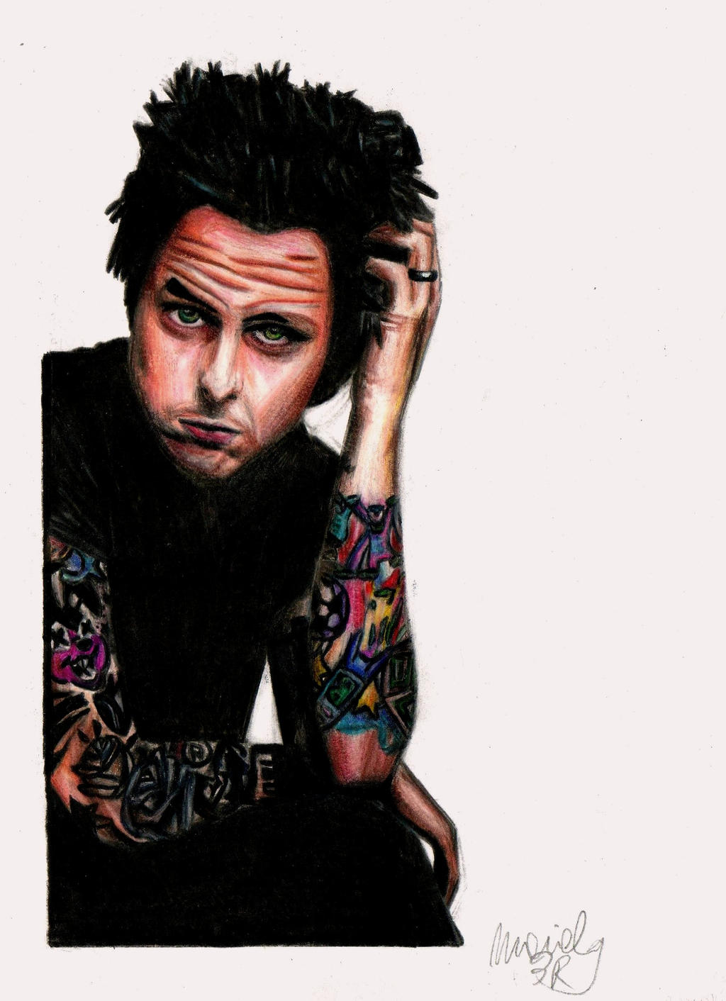 Billie Joe Armstrong By Stray Heart On Deviantart Ideas And Designs