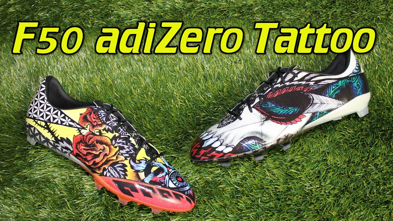 Adidas F50 Adizero 2015 Tattoo Pack Review On Feet Ideas And Designs