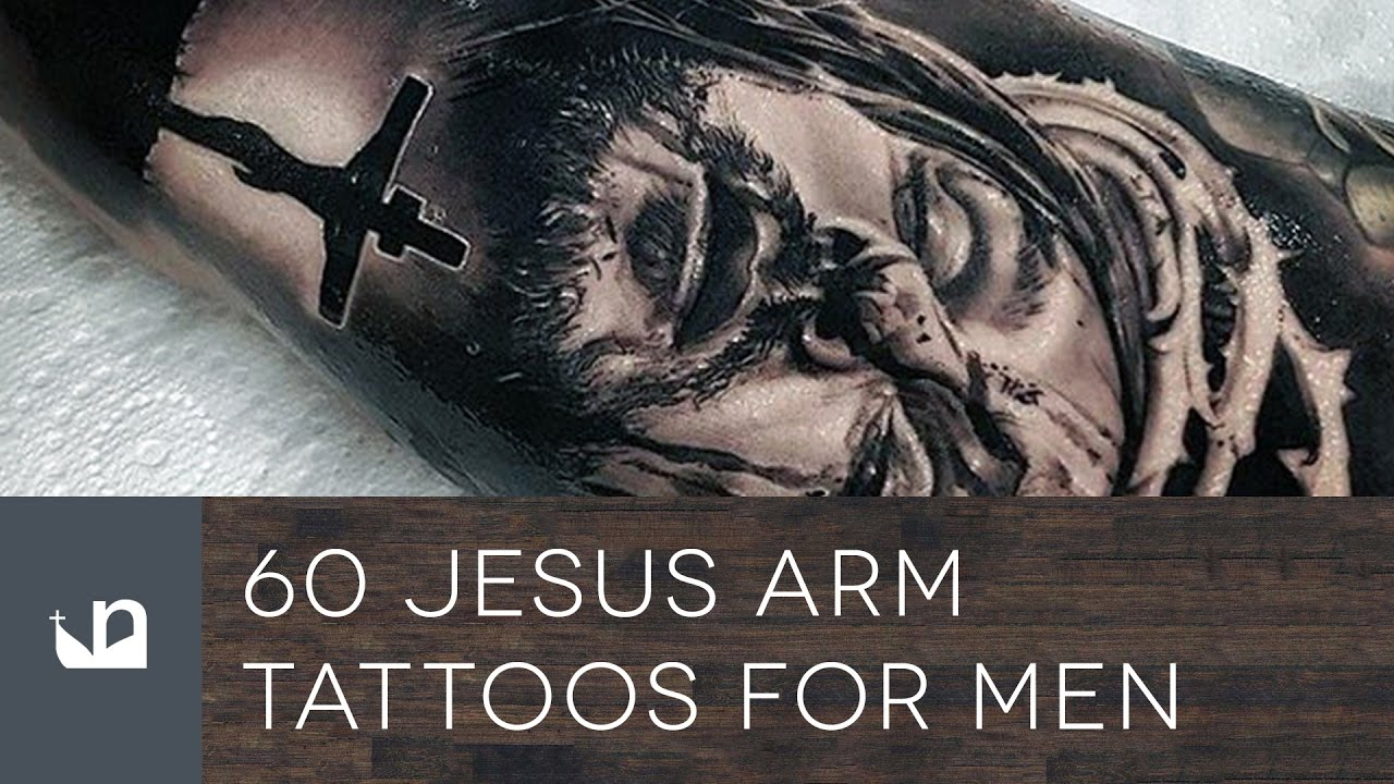 60 Jesus Arm Tattoos For Men Youtube Ideas And Designs