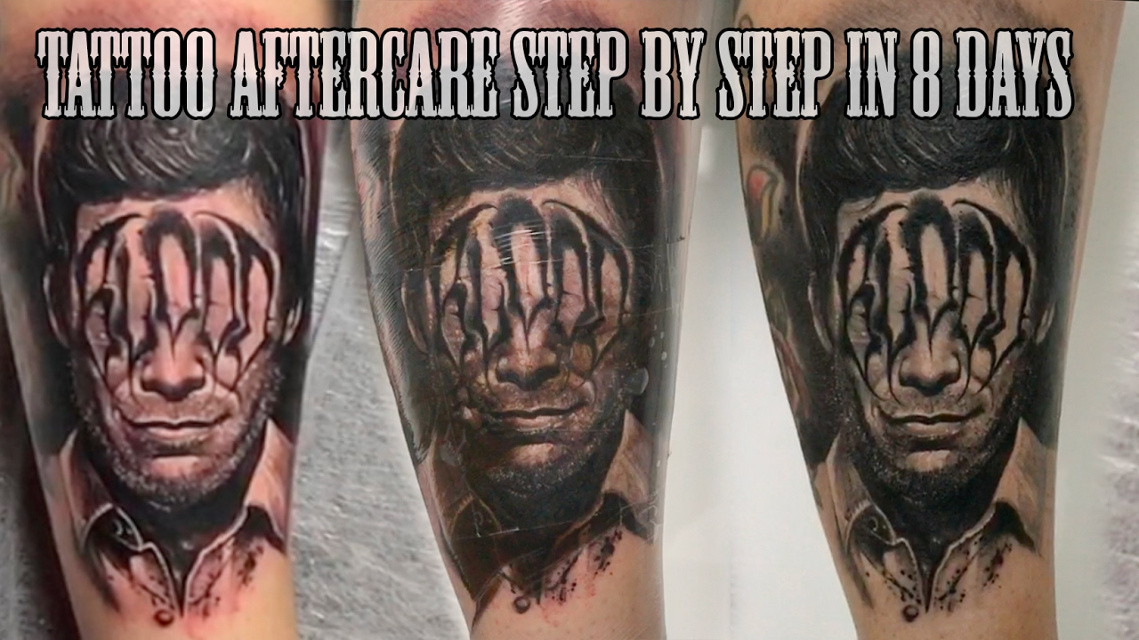 Best Tattoo Aftercare Step By Step In 8 Days Youtube Ideas And Designs