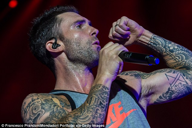 Adam Levine Shares Photo Of Winged Mermaid With Skull Back Ideas And Designs