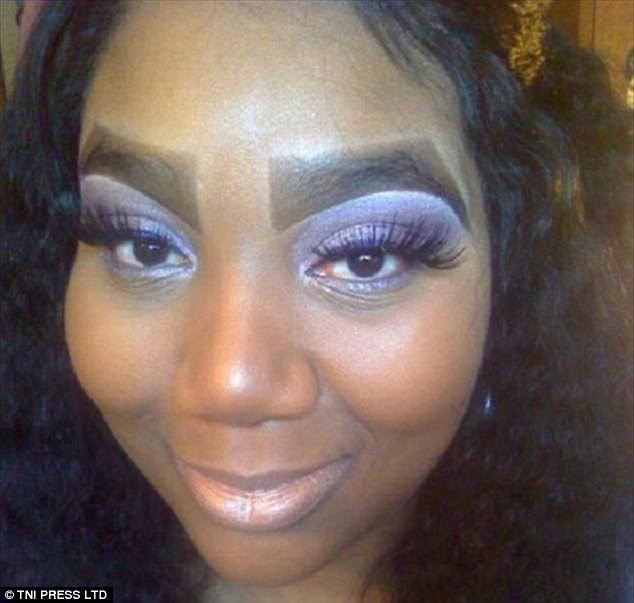 Are These The Worst Eyebrows Fails Ever Daily Mail Online Ideas And Designs