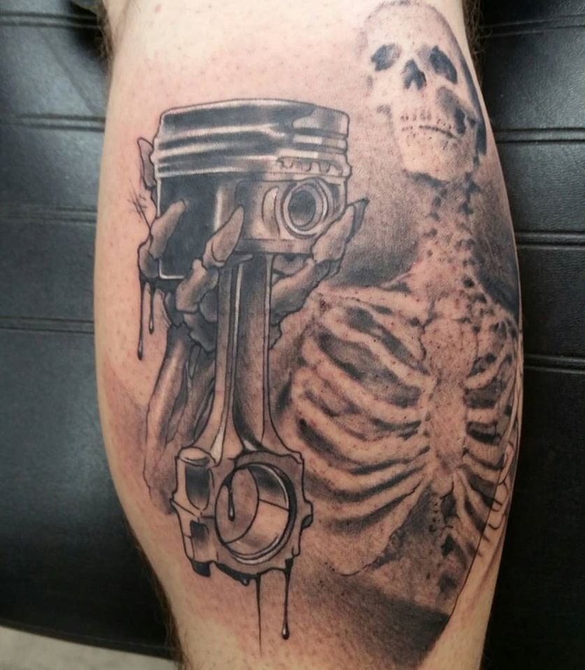 Are Auto Related Tattoos Allowed Autos Ideas And Designs