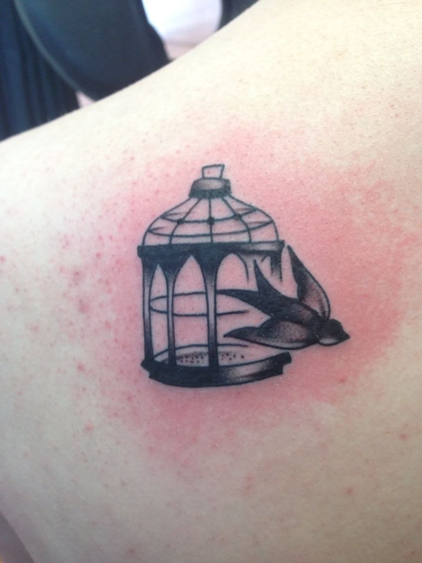 Bioshock Infinite Inspired Tattoo By Rachell At Strange Ideas And Designs