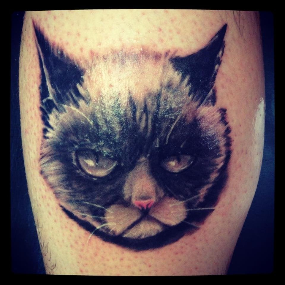 Grumpy Cat Nate Cape Fear Tattoo In Wilmington Nc Ideas And Designs