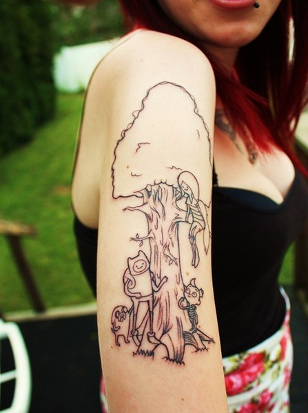 Adventure Time Tattoo On Tumblr Ideas And Designs
