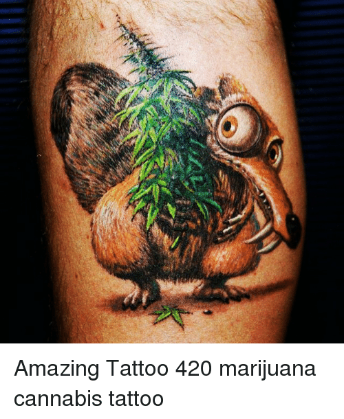 Link Amazing Tattoo 420 M*R*J**N* Cannabis Tattoo Ideas And Designs