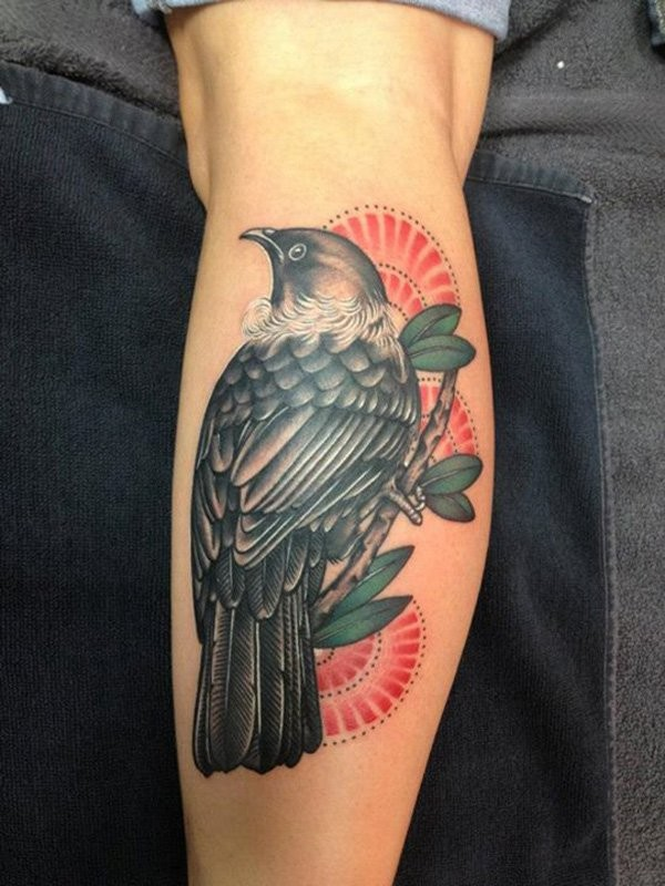 Cool Bird On Tree Tattoo For Guys On Arm Tattooimages Biz Ideas And Designs