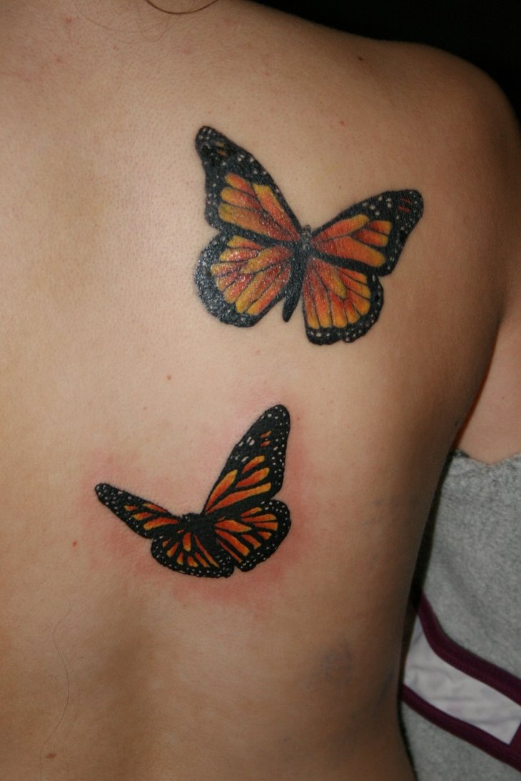 3D Butterfly Tattoos – Truetattoos Ideas And Designs