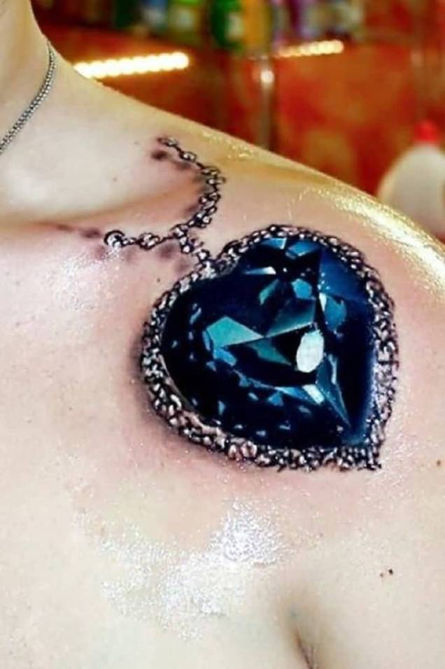 3D Heart Tattoos – Truetattoos Ideas And Designs