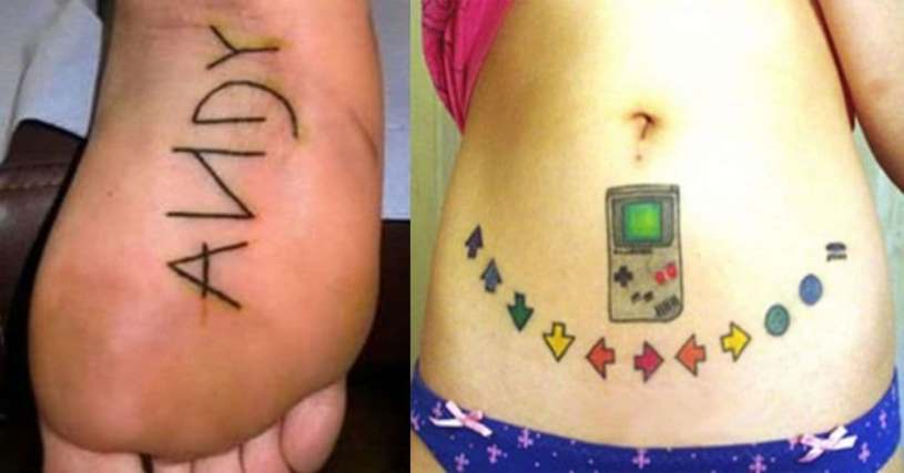90S Tattoos Funny Tattoos From 90S Pop Culture Photos Ideas And Designs
