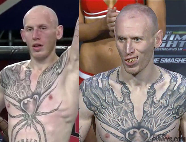 9 Of The Worst Tattoos In The Ufc Ideas And Designs