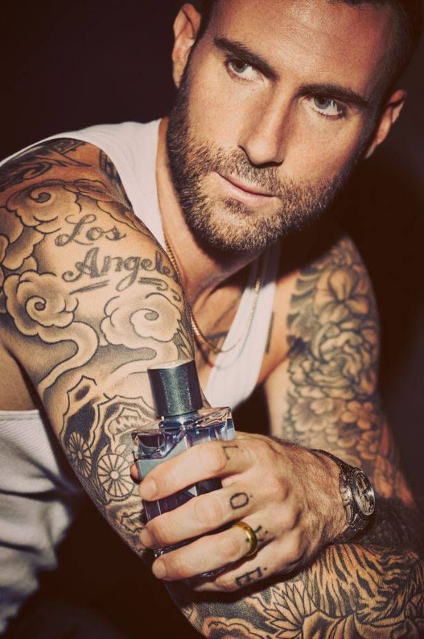 Adam Levine Is The New Ambassador For Yves Saint Laurent Y Ideas And Designs