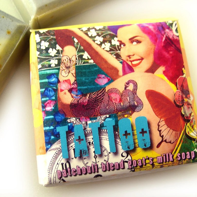 Tattoo Patchouli Blend Goat S Milk Soap Your Choice Of Etsy Ideas And Designs